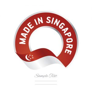 Assembled in Singapore Noise Plaster